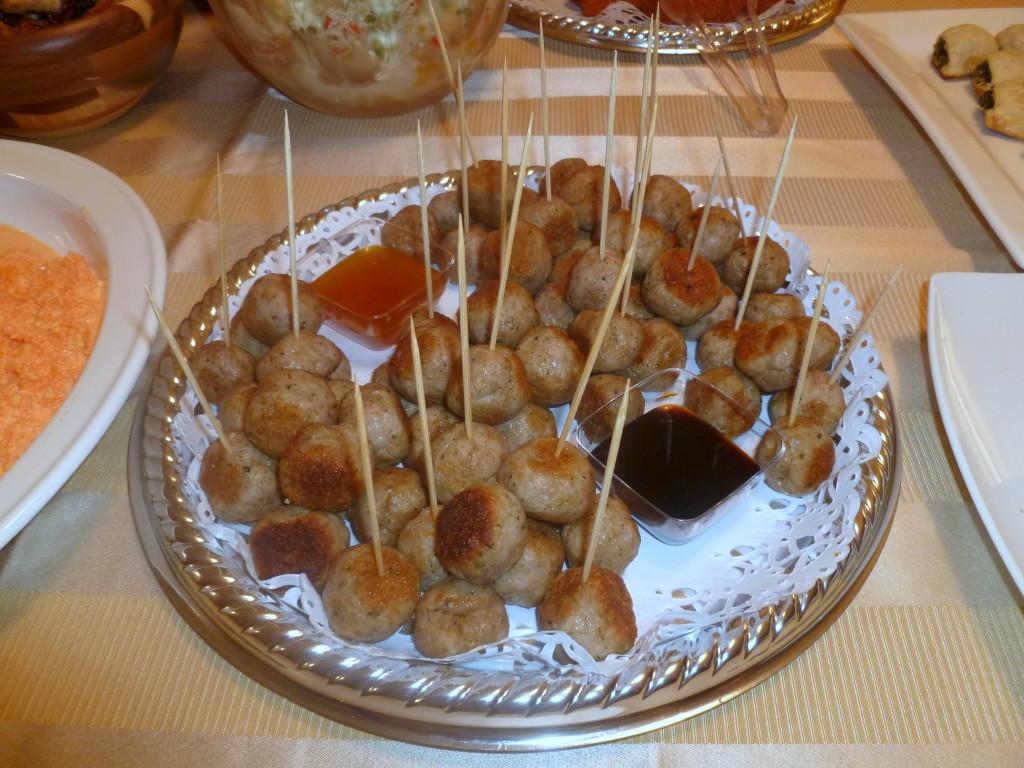 Albondigas de puerco con maní - La cocina de Vero