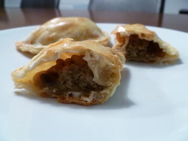Empanadas con berenjenas - La cocina de Vero