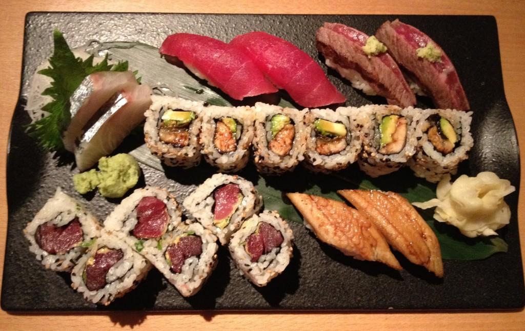 sushi - maki y sashimi