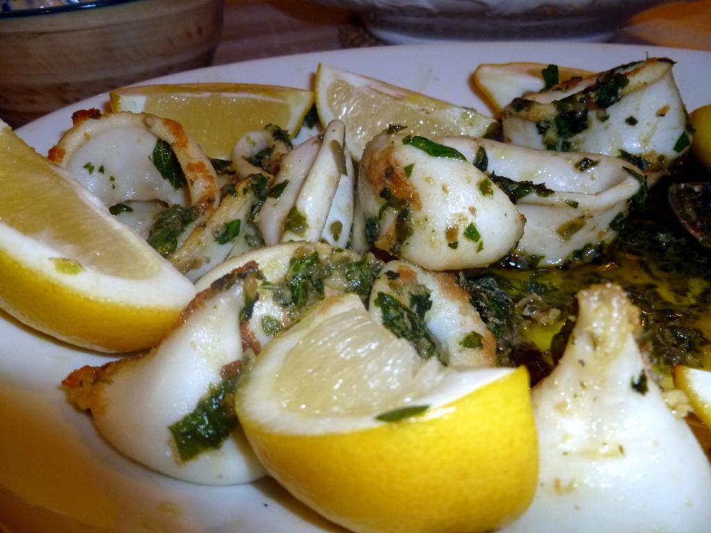 Calamares a la turca