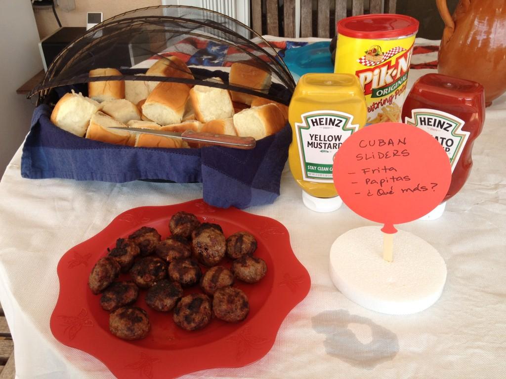 Frita Cubana - Cuban Slider - La cocina de Vero