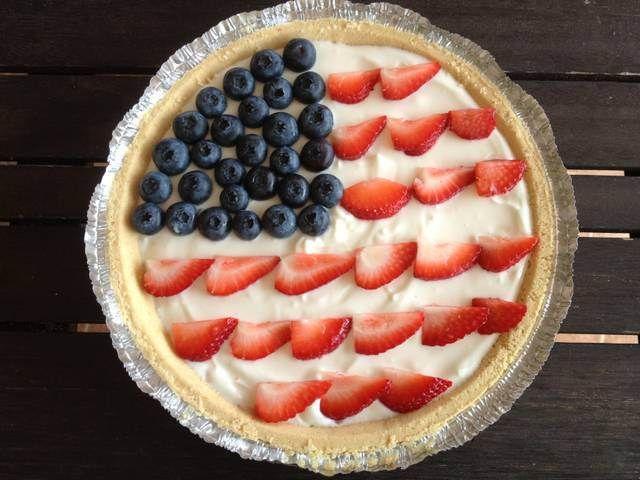 tarta para el 4 de julio