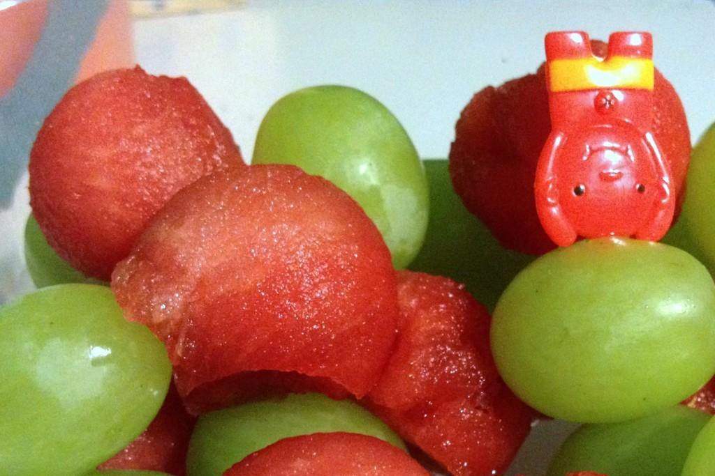 Meriendas escolares - Frutas