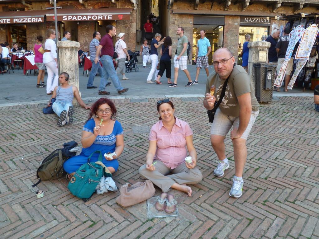 helado en Siena