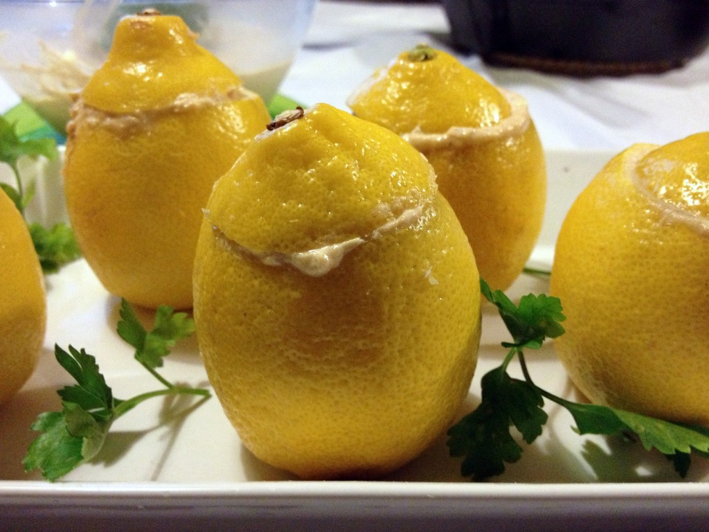 limones rellenos