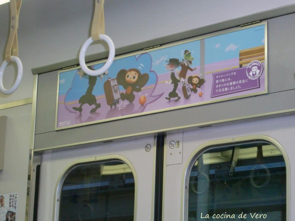 cheburashka en metro