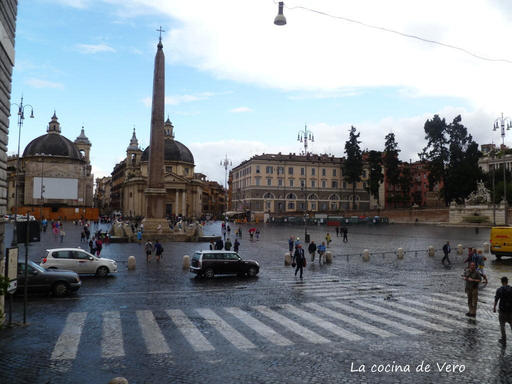 monolito ramses II - piazza del popolo