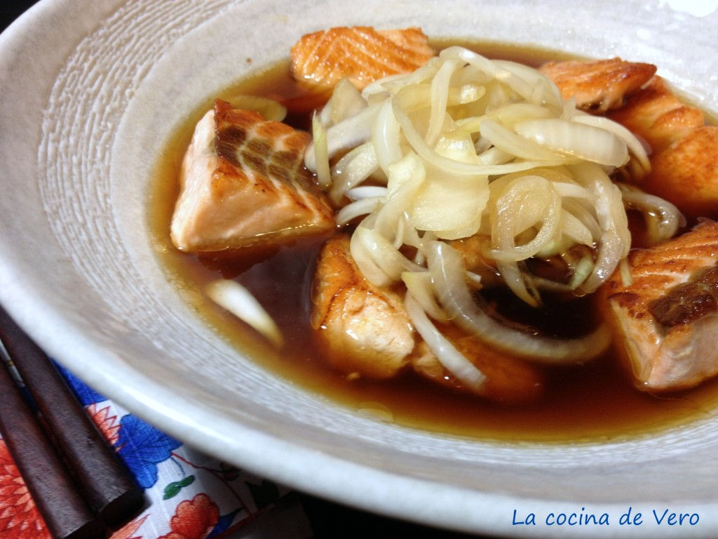 salmon en escabeche