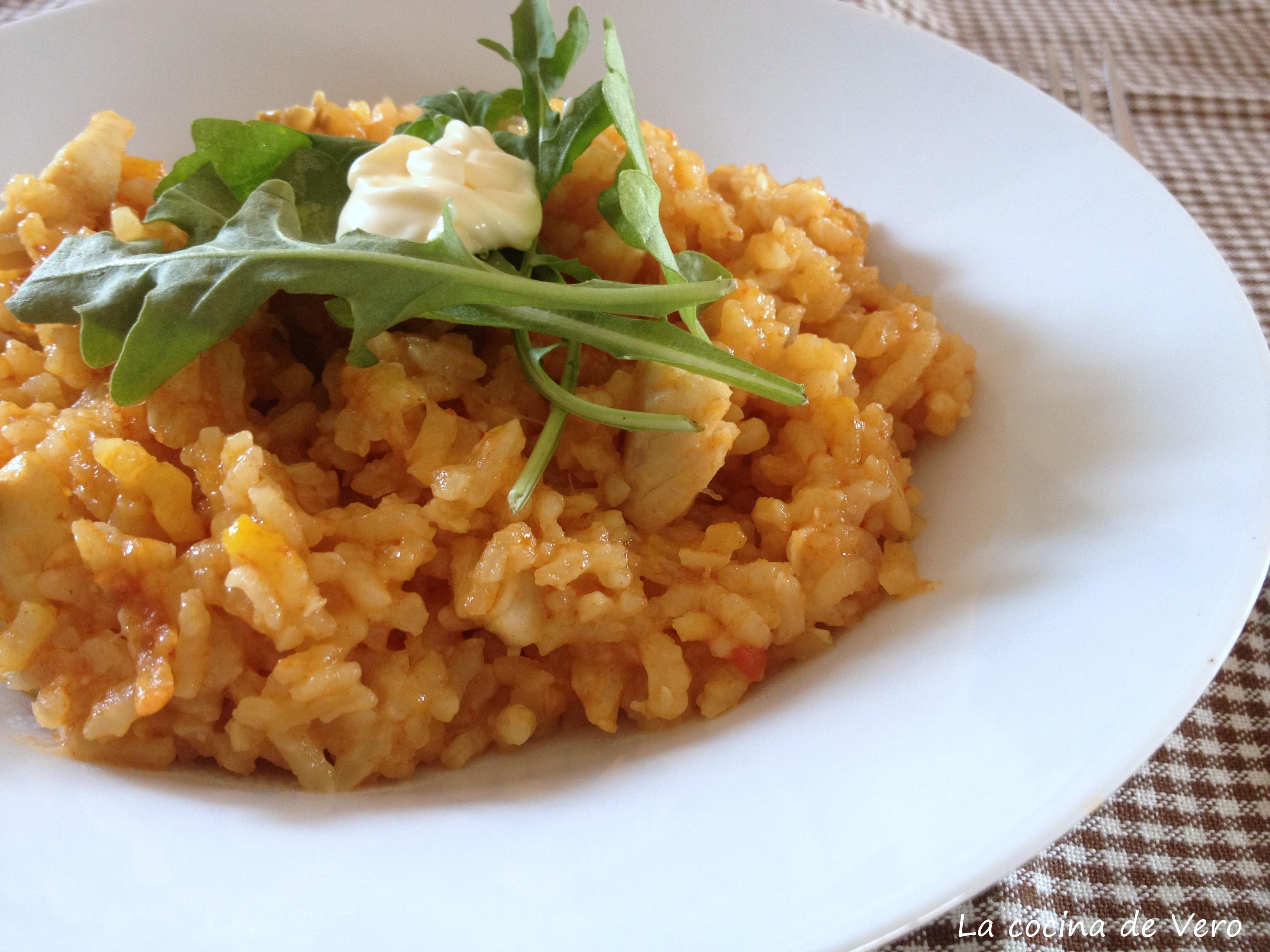 arroz meloso con pescado