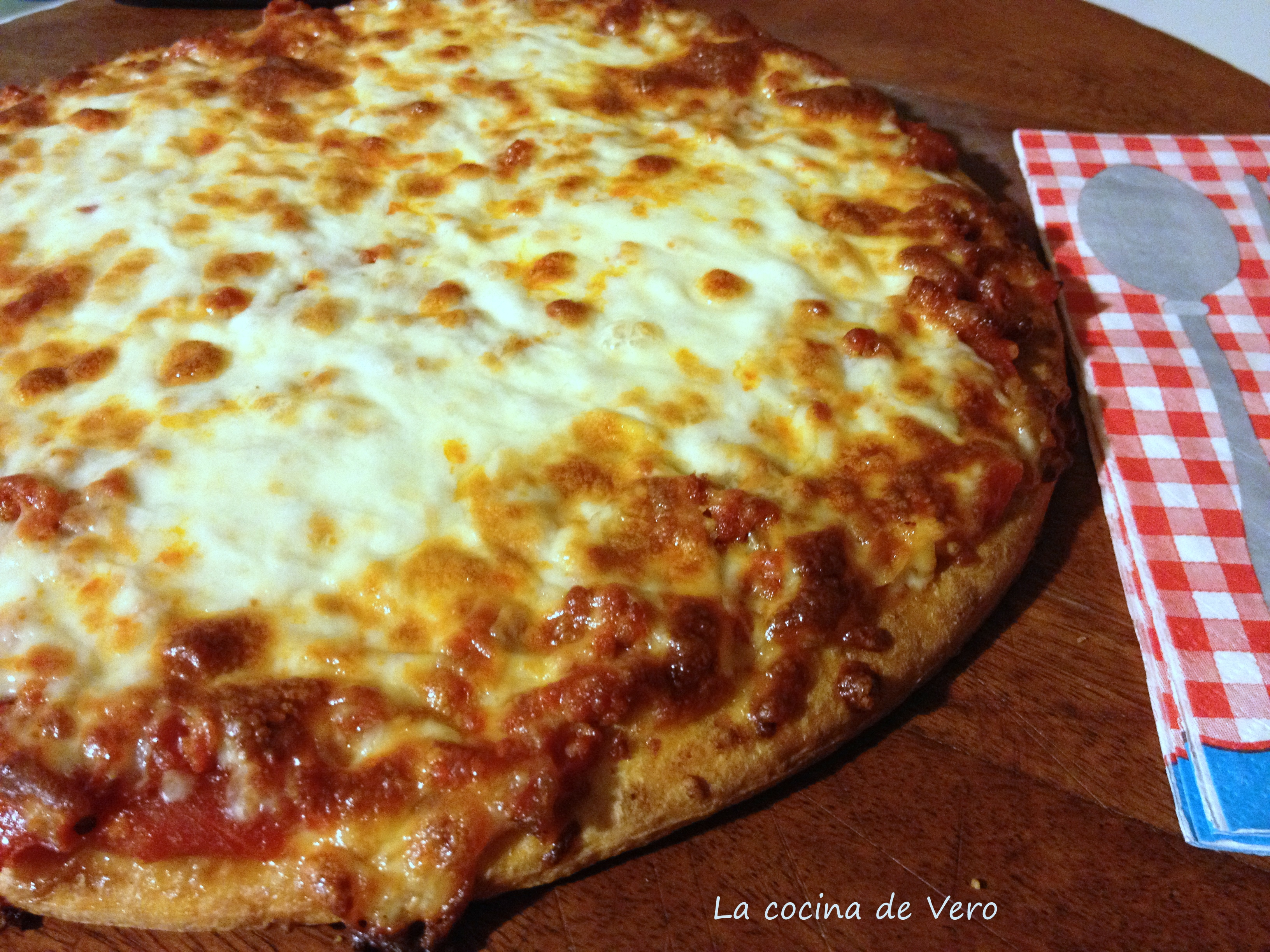 pizza de chorizo rey pizza