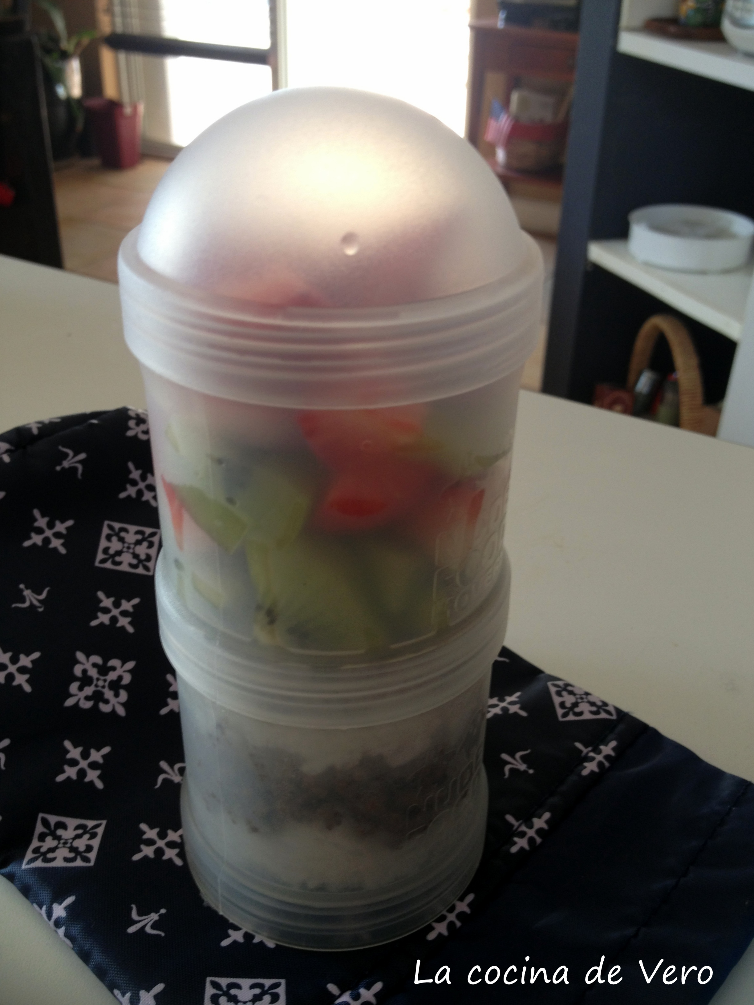 timbalito y frutas