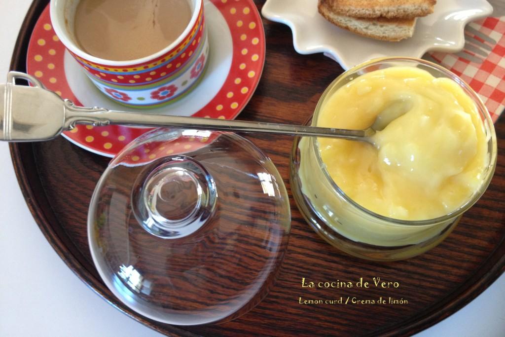 crema de limon - lemon curd