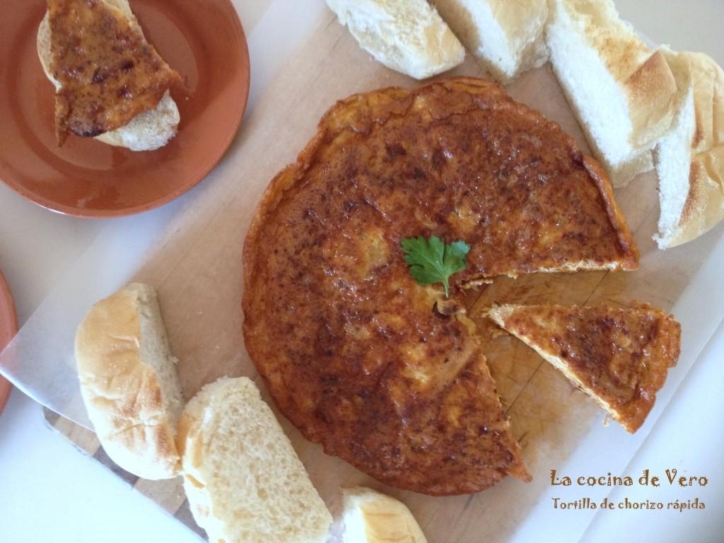 tortilla de chorizo