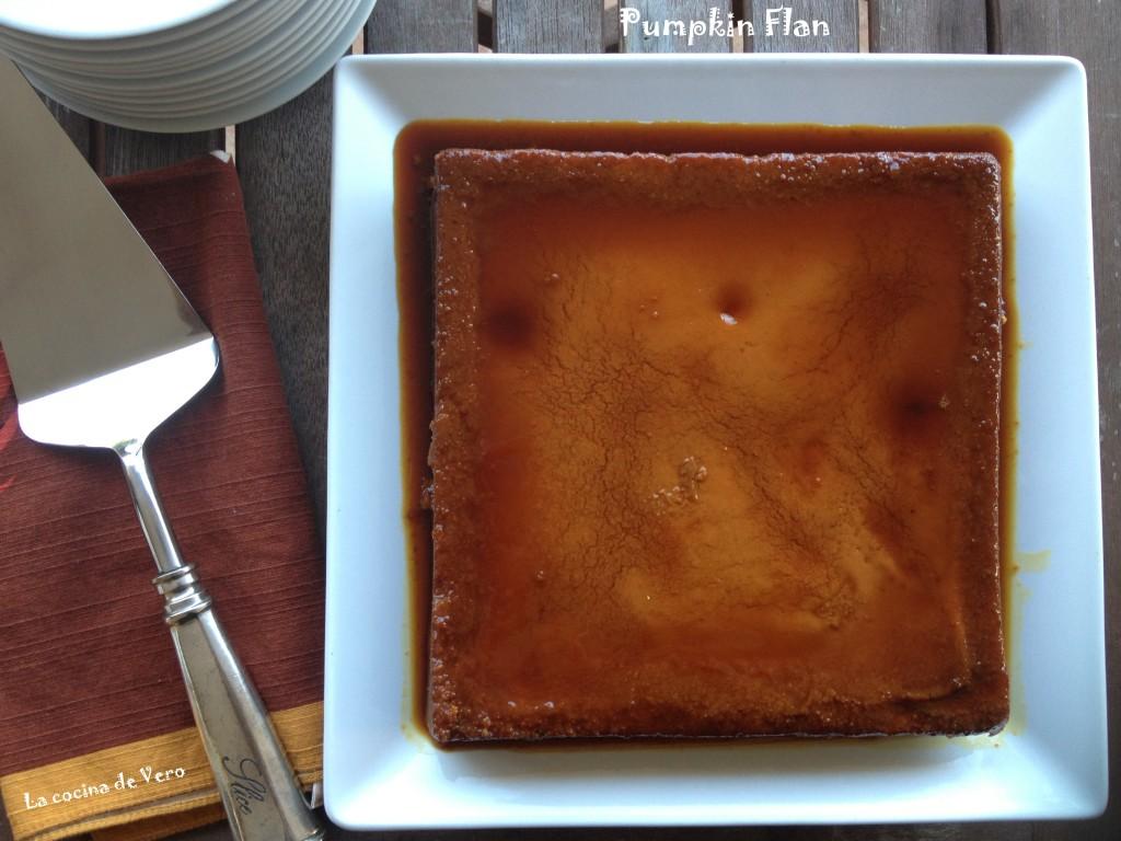 Pumpkin Flan - La cocina de Vero