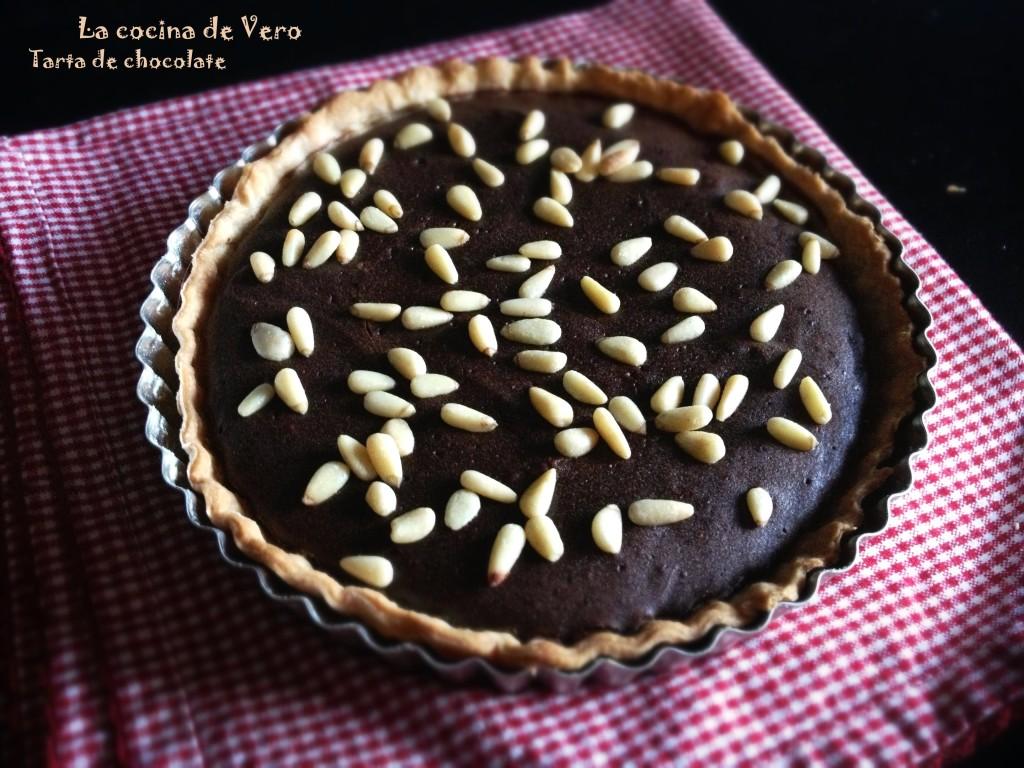 Tarta de chocolate - La cocina de Vero