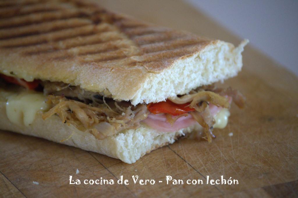 Pan con lechón - La cocina de Vero