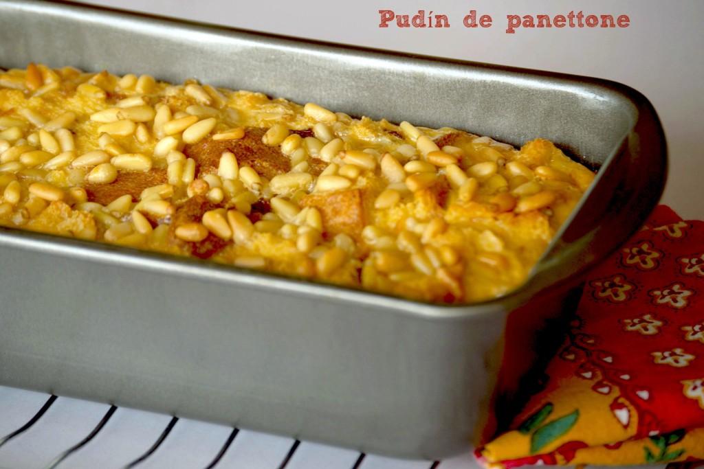 Pudín de panettone - La cocina de Vero