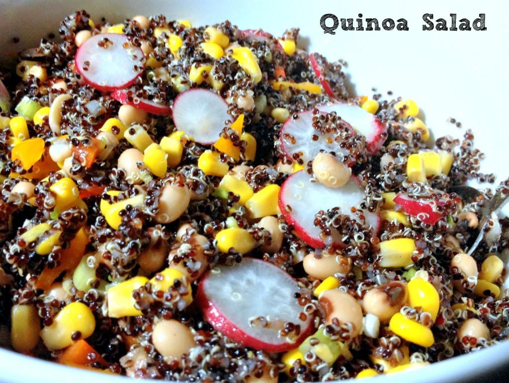 Quinoa Salad - La cocina de Vero