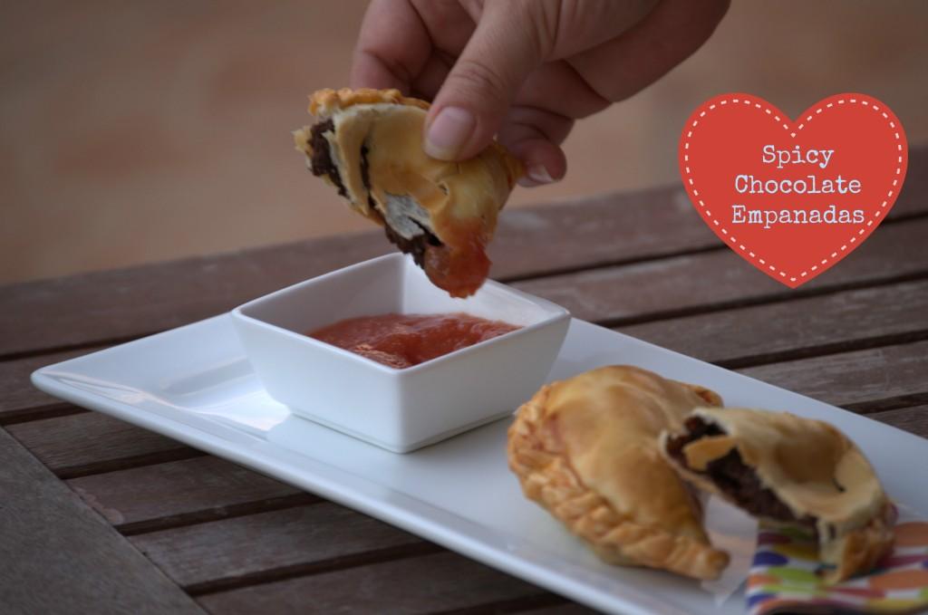 Spicy Chocolate Empanadas - La cocina de Vero