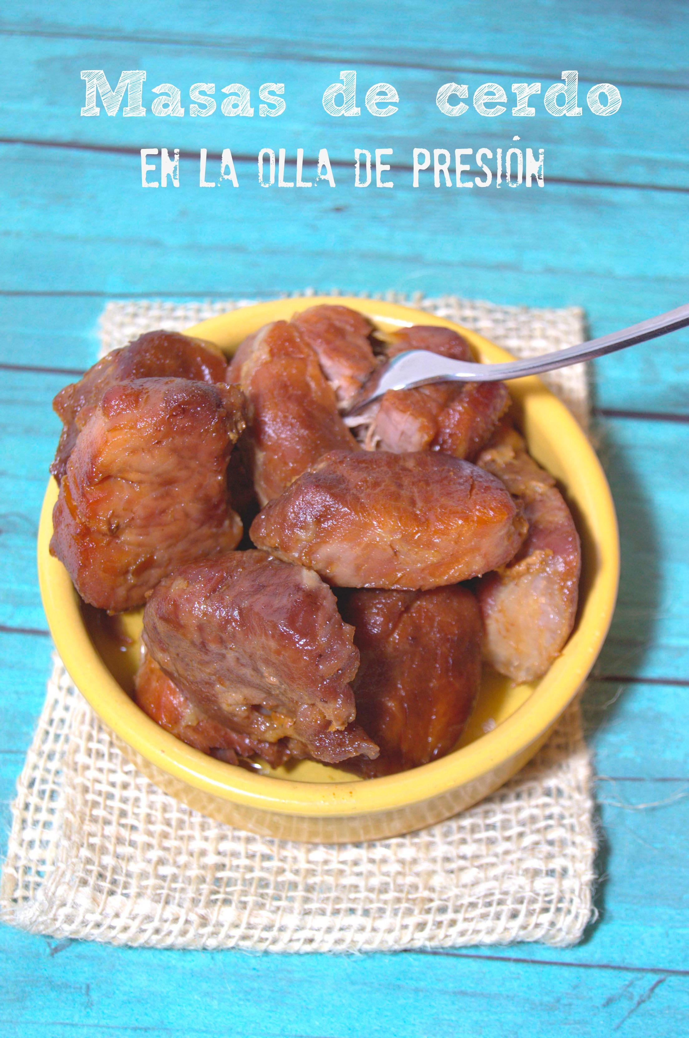 Manitas de cerdo en salsa olla gm d - Receta Petitchef