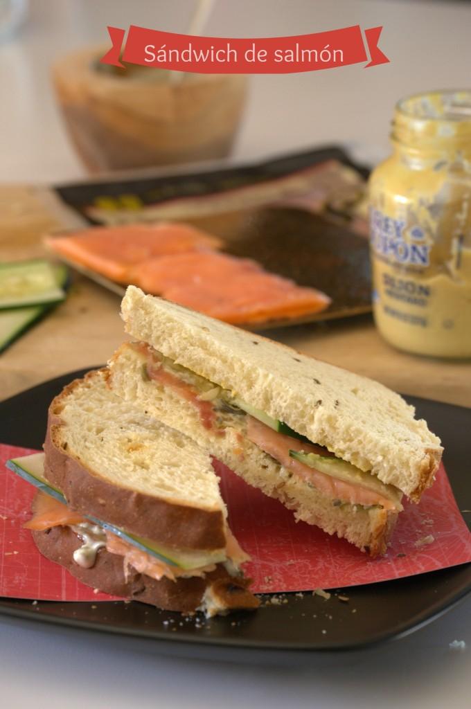 Sándwich de salmón - La cocina de Vero