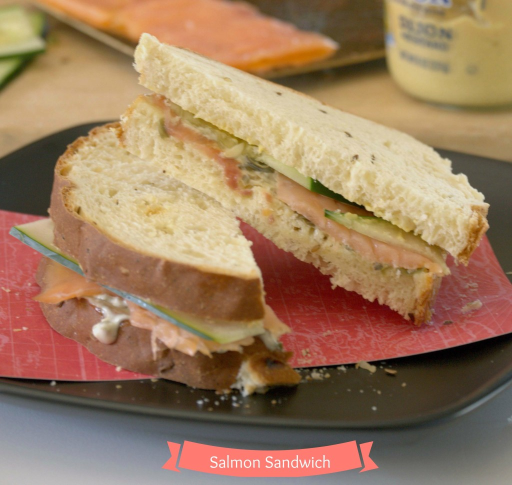 Salmon Sandwich - La cocina de Vero