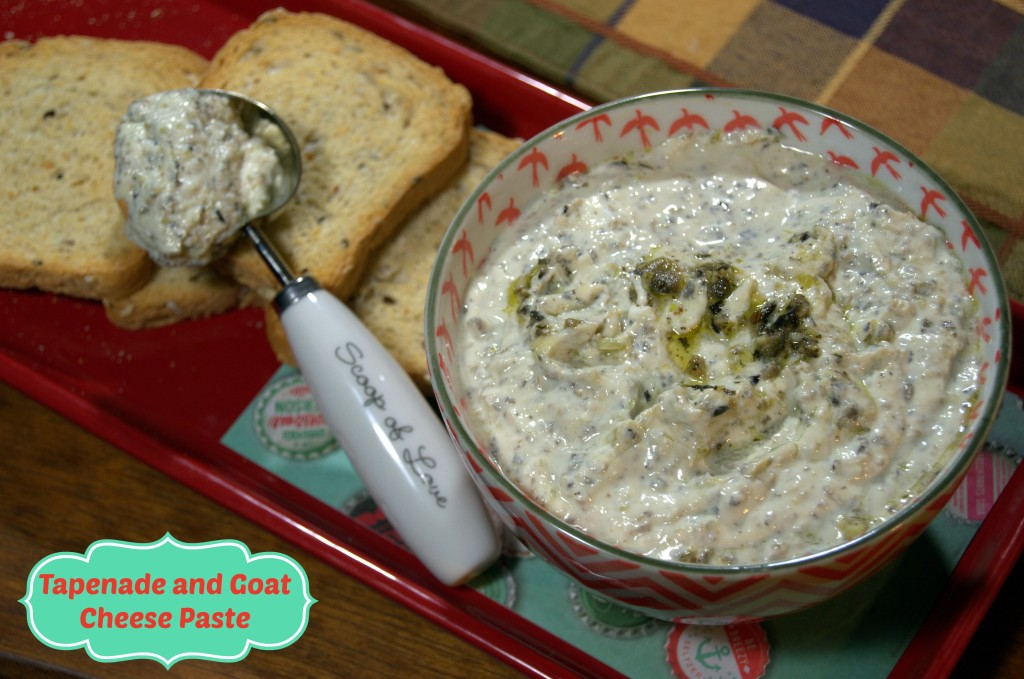 Tapenade and Goat Cheese Paste - La cocina de Vero
