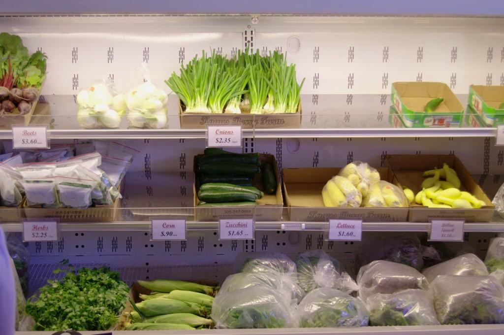 vegetales a la venta