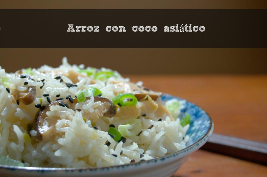 Arroz con coco asiático - La cocina de Vero