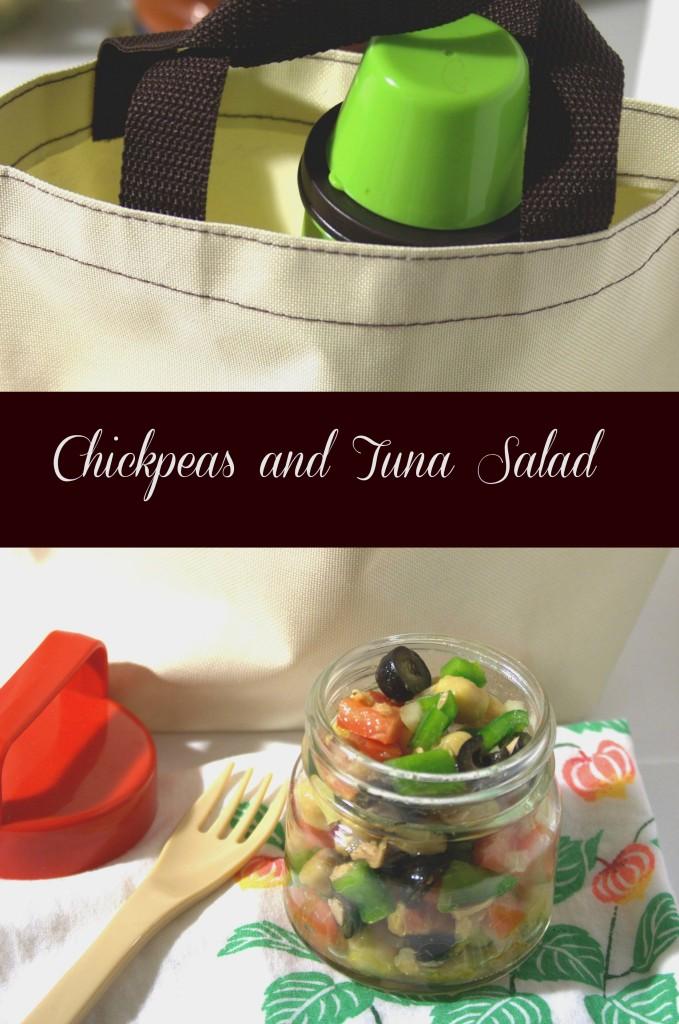 Chickpeas and Tuna Salad - La cocina de Vero