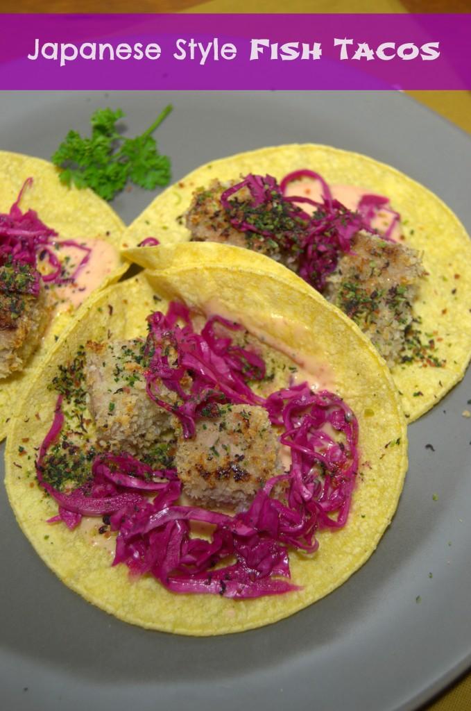 Japanese Style Fish Tacos - La cocina de Vero