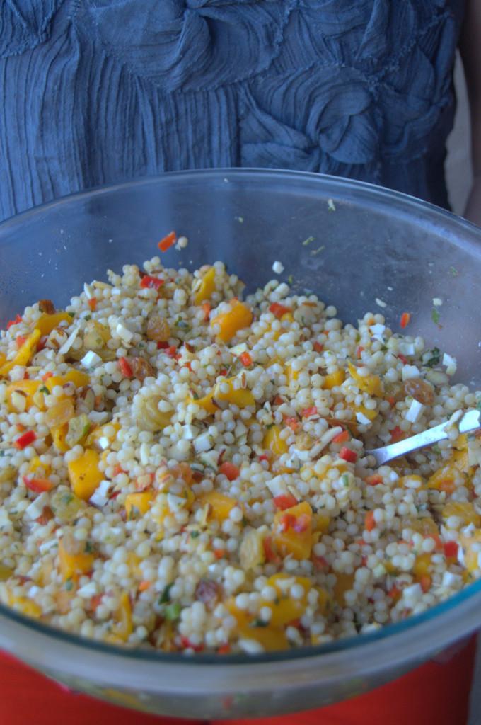 Ensalada de cuscus y mango