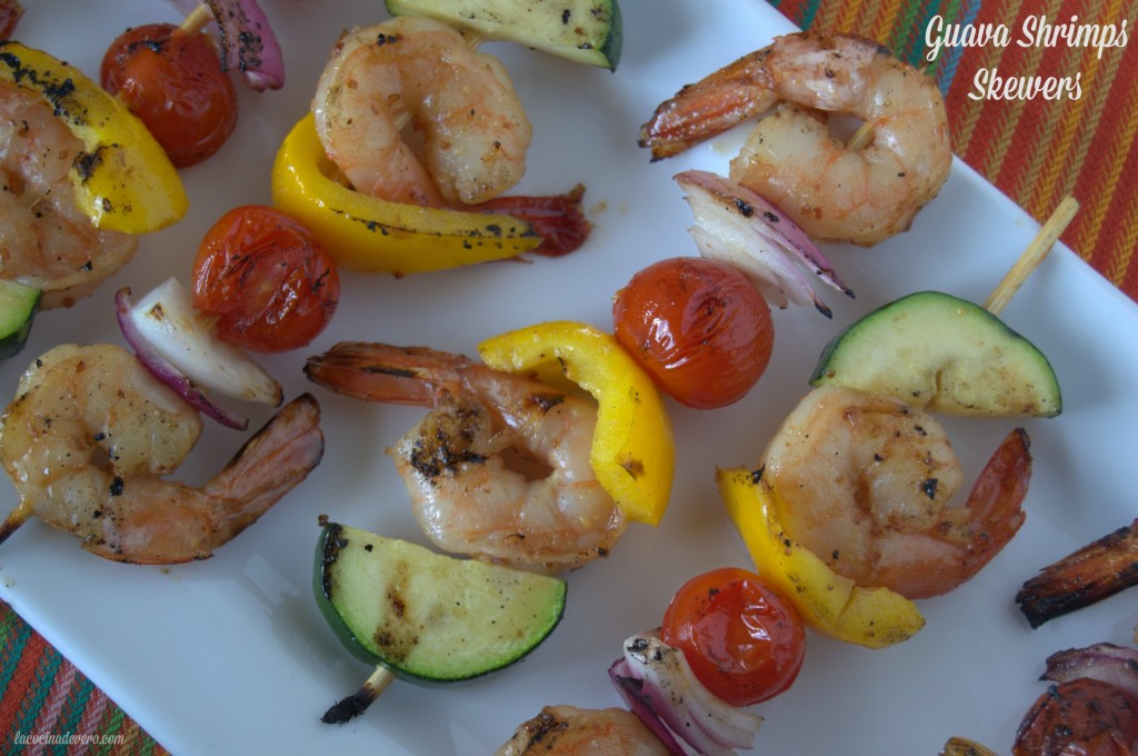Guava-Shrimps-Skewers