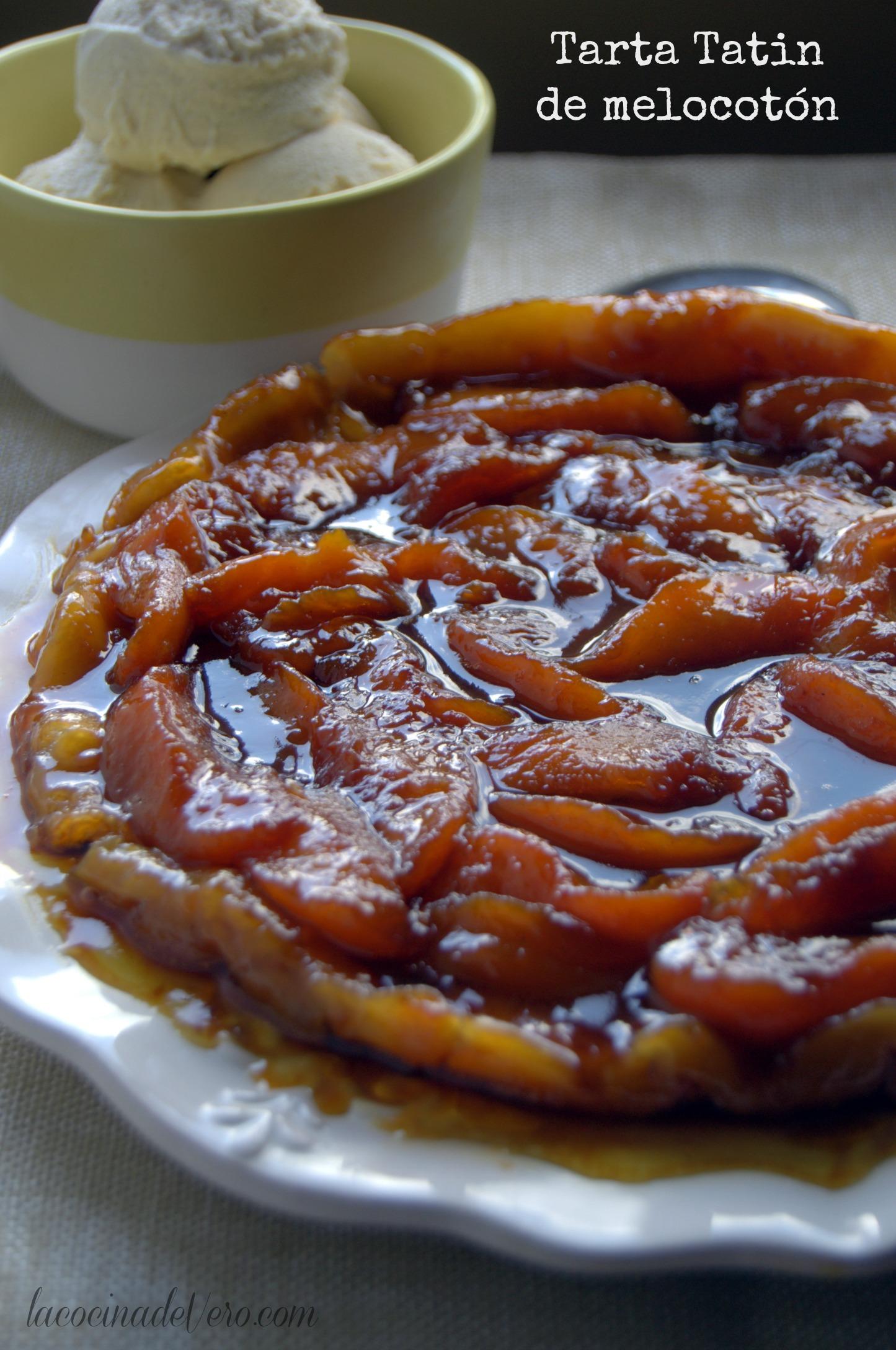 Tarta Tatin C Cocina | Tarta Tatin De Melocoton Peach Tatin Tart