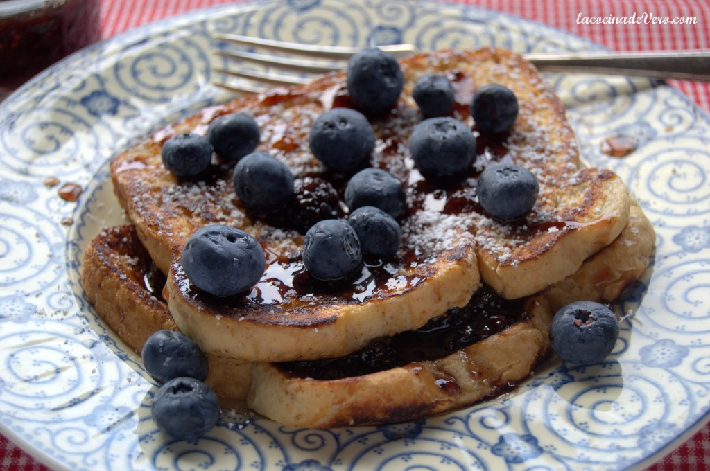 Blueberries French Toasts