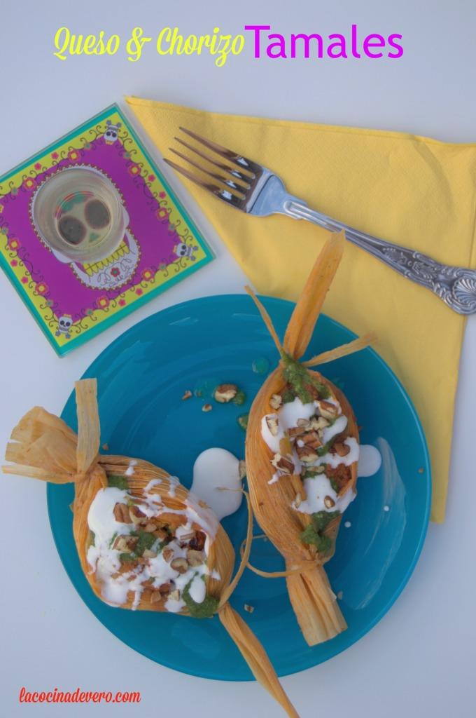 Queso-Chorizo-Tamales