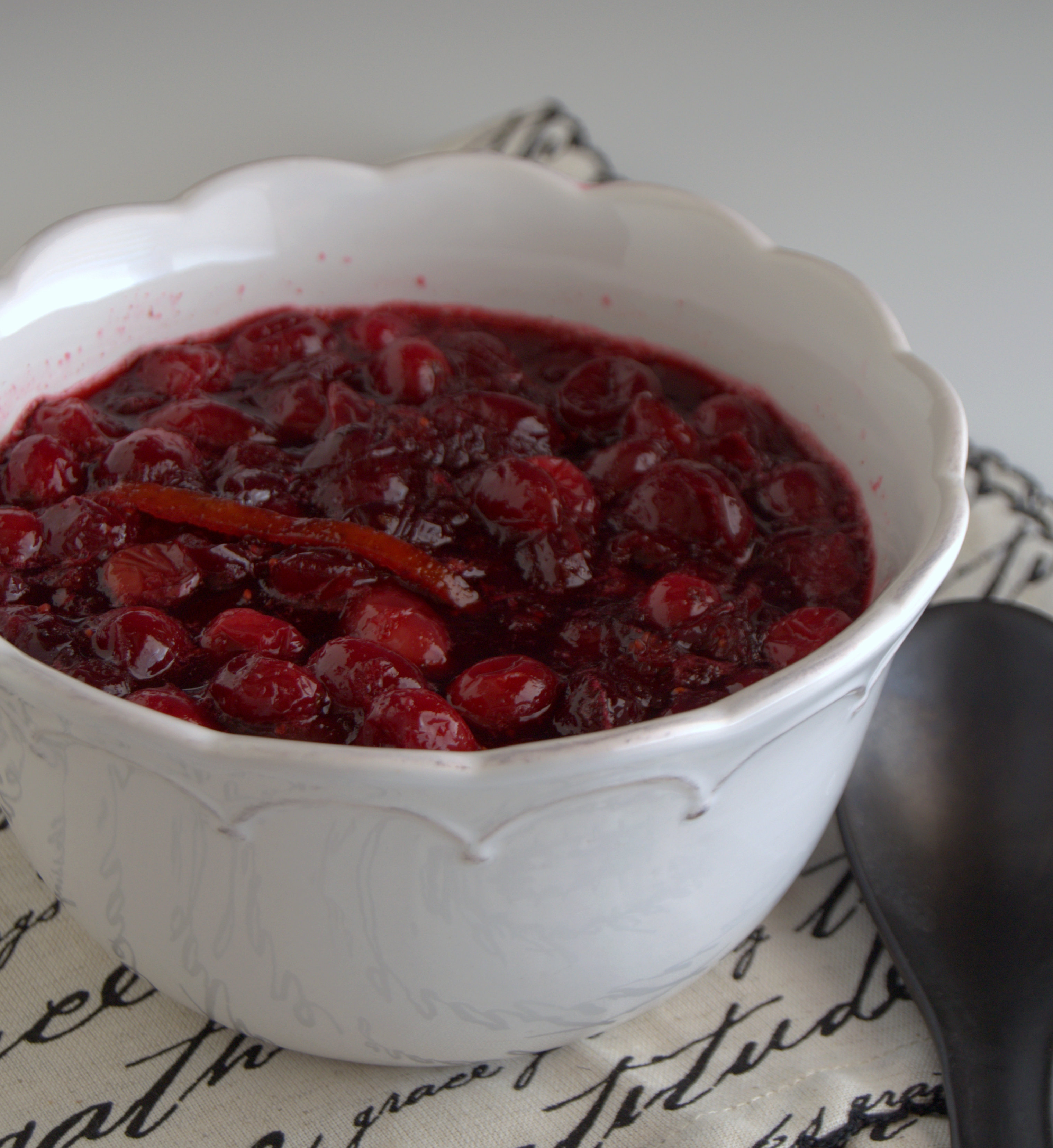 salsa de ar ndanos rojos