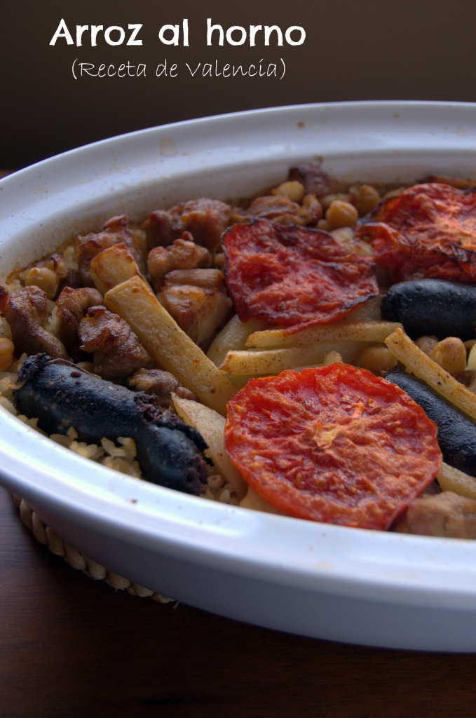 arroz al horno - valencia