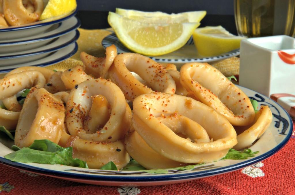 Calamares Teriyaki