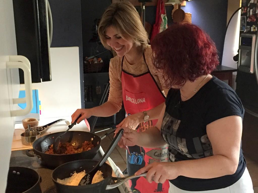 Cocinando con Daisy Ballmajó
