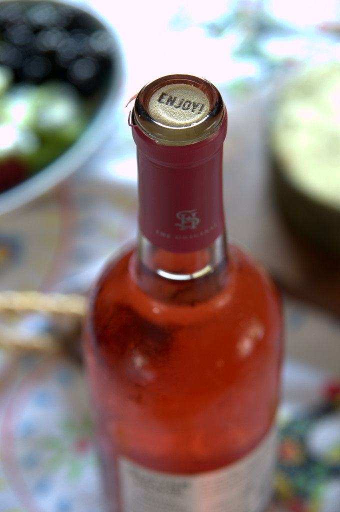 abrir vino