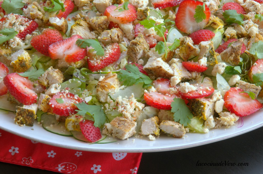 pon una ensalada - la cocina de Vero