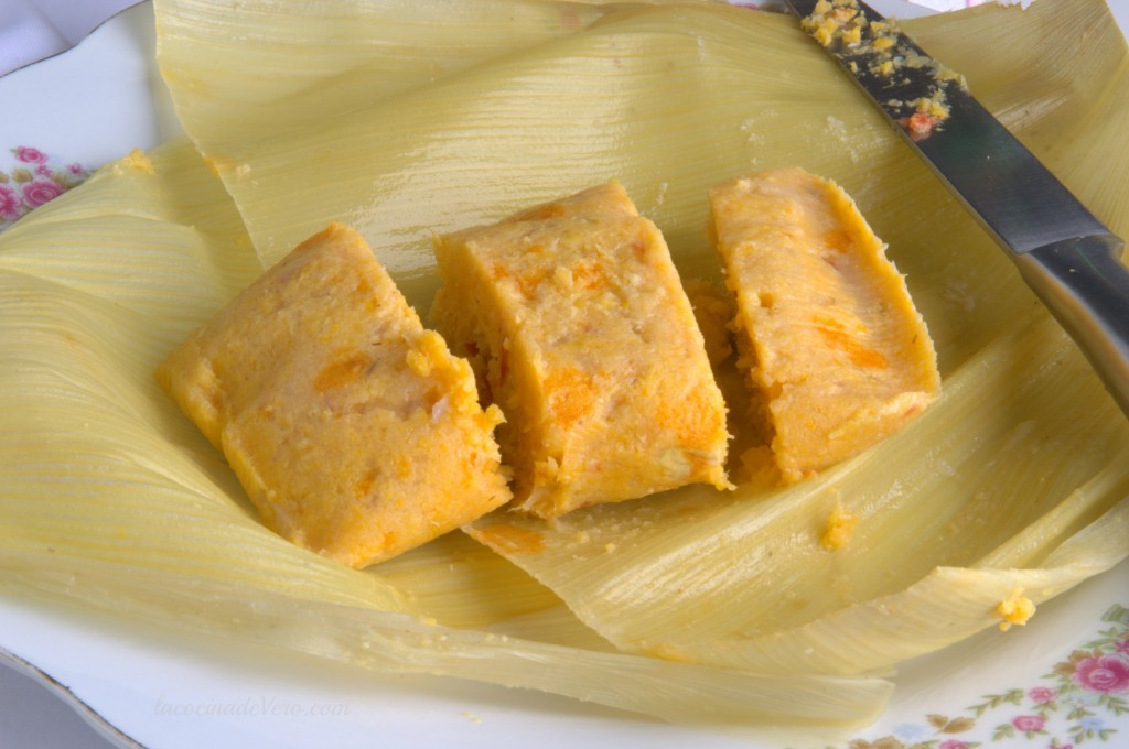 Tamales cubanos vegetarianos