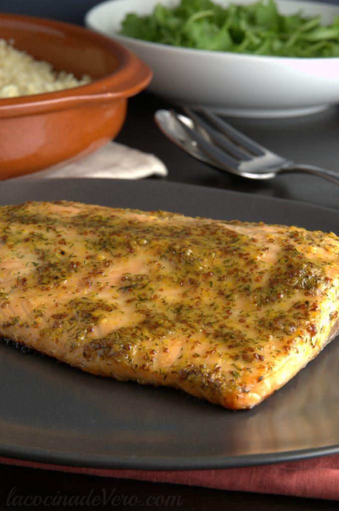 salmon-con-miel-y-mostaza