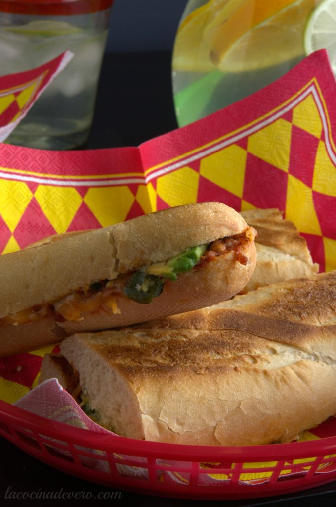 Sándwich de choriqueso