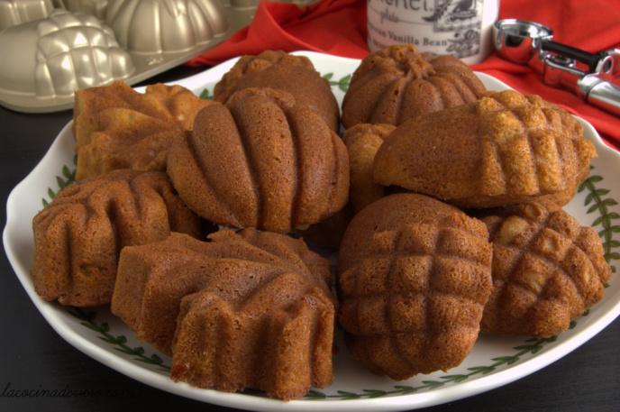 Bundt cakes de 5 especias chinas