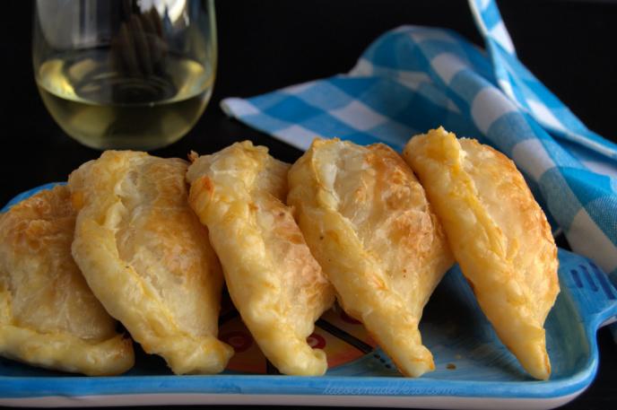Empanadas de camarones